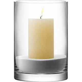LSA International Column Vase & Candleholder 24cm Advent candle holder Christmas decorations