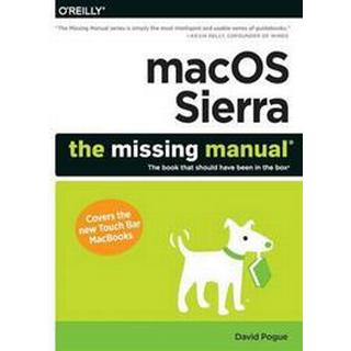 macOS Sierra: The Missing Manual: The Book That Should Have Been in the Box (Häftad, 2016), Häftad