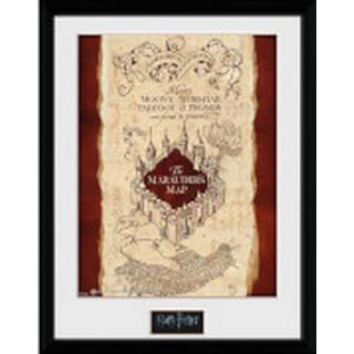 GB Eye Harry Potter Marauders Map 30x40cm Framed art