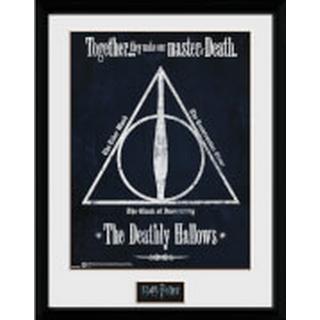 GB Eye Harry Potter Deathly Hallows 30x40cm Framed art