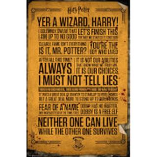 GB Eye Harry Potter Quotes Maxi 61x91.5cm Posters