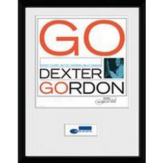 GB Eye Blue Note Dexter 30x40cm Framed art