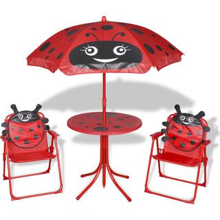 vidaXL 41842 Café Group, 1 Table inkcl. 2 Chairs