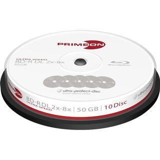 Primeon BD-R 50GB 8x Spindle 10-Pack