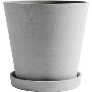 Hay Flower Pot with Saucer XXL 24.5cm