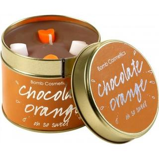 Bomb Cosmetics Aroma Candle Chocolate Orange