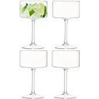 LSA International Otis Champagne Glass 28 cl 4 pcs