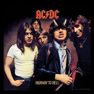 GB Eye AC/DC Highway to Hell 30x30cm Art