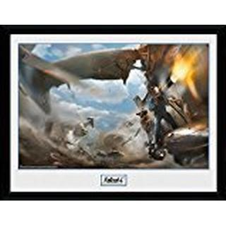 GB Eye Fallout 4 Virtibird Door Gunner 30x40cm Framed art