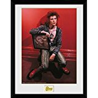 GB Eye David Bowie Chair 30x40cm Framed art
