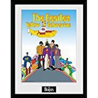 GB Eye The Beatles Yellow Submarine 30x40cm Framed art