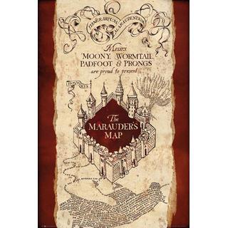 GB Eye Harry Potter Marauders Map Maxi 61x91.5cm Posters
