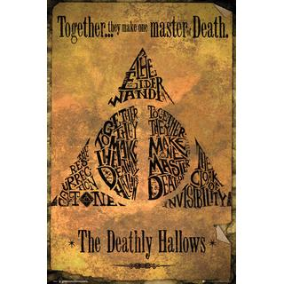 GB Eye Harry Potter Deathly Hallows Maxi 61x91.5cm Posters