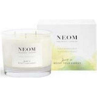 Neom Organics Feel Refreshed 3 Wicks Scented Candle Sicilian Lemon & Fresh Basil 420g