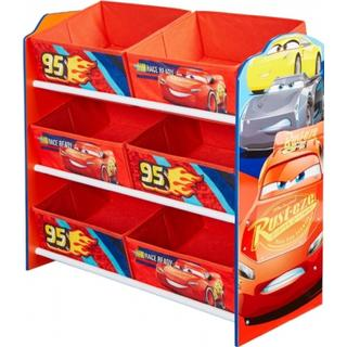 Worlds Apart Hello Home Disney Cars 3 Multi Storage Unit