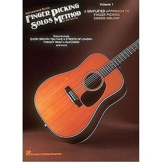 Hal Leonard Guitar Finger Picking Solos Method