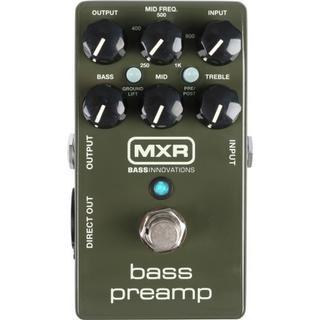 Jim Dunlop M81 MXR Bass Preamp
