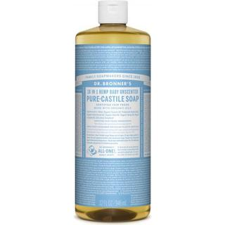Dr. Bronners Baby Unscented Pure-Castile Liquid Soap 473ml