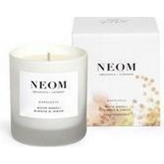 Neom Organics Happiness 1 Wick Scented Candle White Neroli Mimosa & Lemon 185g