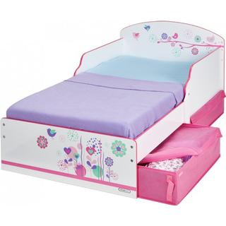 Hello Home Flowers & Birds Toddler Bed