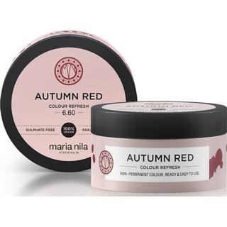 Maria Nila Colour Refresh #6.60 Autumn Red 100ml