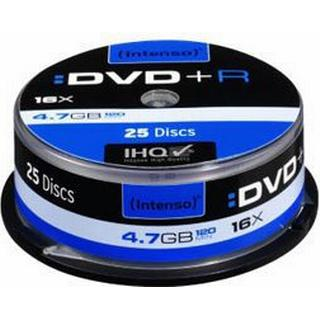 Intenso DVD+R 4.7GB 16x Spindle 25-Pack