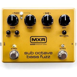 Jim Dunlop M287 MXR Sub Octave Bass Fuzz
