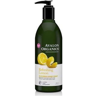 Avalon Organics Refreshing Lemon Glycerin Hand Soap 355ml