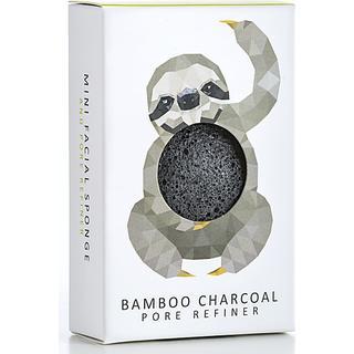 Konjac Mini Rainforest Pore Refiner Bamboo Charcoal Sloth