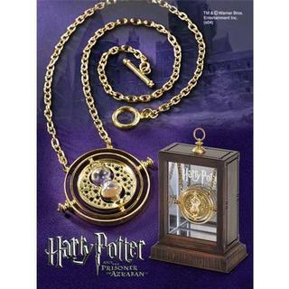 Noble Collection Harry Potter Hermione's Time Turner Replica Gold Plated Necklace