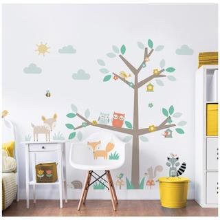 Walltastic Woodland Tree & Friends Large Character Sticker 44647