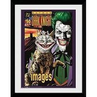 GB Eye Batman Comic Joker Cat 30x40cm Framed art