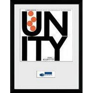 GB Eye Blue Note Unity 30x40cm Framed art