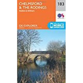 OS Explorer Map (183) Chelmsford and the Rodings