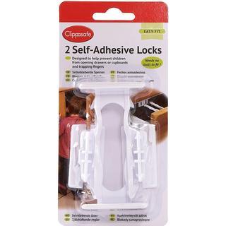 Clippasafe Self Adhesive Locks 2pcs