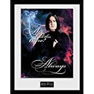 GB Eye Harry Potter Snape Always 30x40cm Framed art
