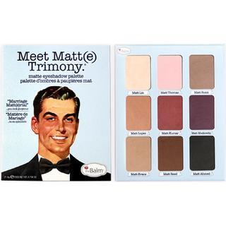 The Balm Meet Matte Eyeshadow Palette Trimony