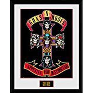 GB Eye Guns N Roses Appetite 15x20cm Framed art
