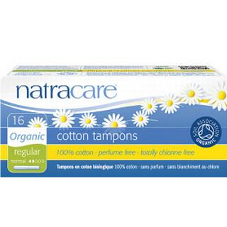 Natracare Cotton Tampons Regular 16-pack