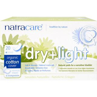 Natracare Ecological Incontinence Protection Dry & Light 20-pack