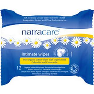 Natracare Organic Cotton Intimate Wipes 12-pack