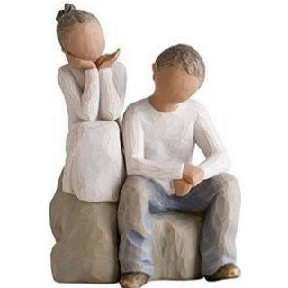 Willow Tree Brother & Sister 14cm Figurine