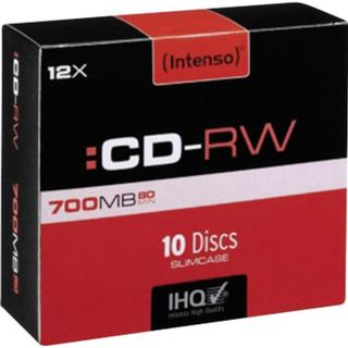 Intenso CD-RW 700MB 12x Slimcase 10-Pack
