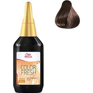 Wella Color Fresh #5/07 Light Natural Brunette Brown 75ml