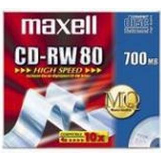 Maxell CD-RW 700MB 10x Jewelcase 10-Pack