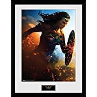 GB Eye Wonder Woman Run 30x40cm Art