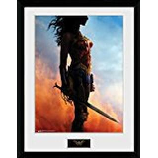 GB Eye Wonder Woman Stand 30x40cm Framed art