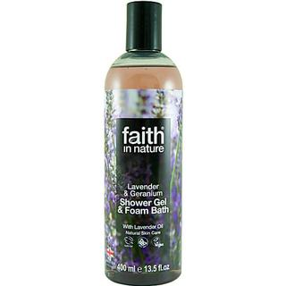Faith in Nature Lavender & Geranium Shower Gel 400ml