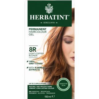 Herbatint Permanent Herbal Hair Colour 8R Light Copper Blonde 150ml