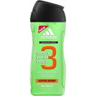 Adidas 3 in 1 Active Start Shower Gel 250ml